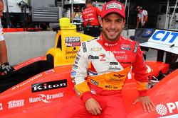 EJ Viso, da equipa Venezuela / Andretti Autosport / HVM
