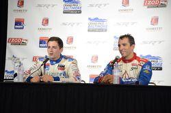 Stefan Wilson, Dale Coyne Racing Honda et Justin Wilson, Dale Coyne Racing Honda