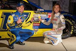 Polesitter Ricky Stenhouse Jr., Roush Fenway Racing Ford