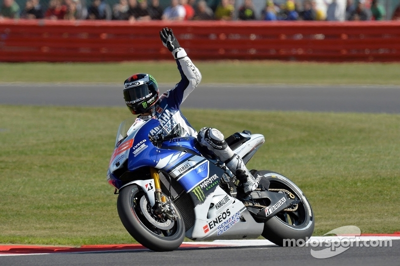 Grand Prix de Grande-Bretagne 2013, vainqueur : Jorge Lorenzo