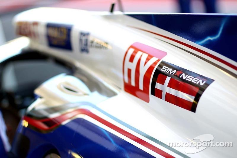 Toyota Racing, Toyota TS030, Hybrid - hommage à Allan Simonsen