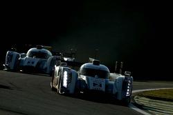 Tom Kristensen, Loïc Duval, Allan McNish, André Lotterer, Benoît Treluyer, Audi Sport Team Joest, Au