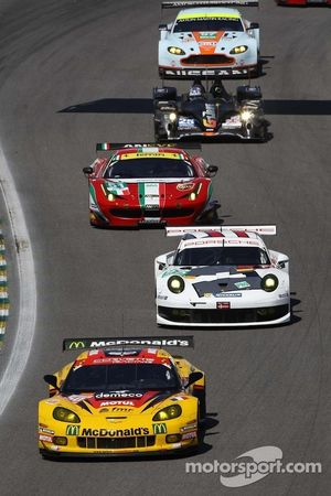 Patrick Bornhauser, Julien Canal, Fernando Rees, Chevrolet Corvette C6-ZR1