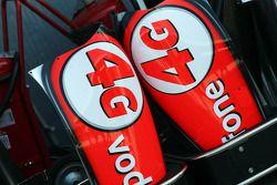 Vodafone 4G sur la McLaren MP4-28