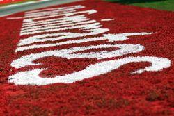 Emirates branding on the circuit