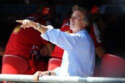 Luca di Montezemolo, Président de Ferrari