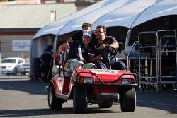 Fredy Barth, BMW E90 320 TC, Wiechers-Sport e Dominik Greiner, Team Principal, Wiechers-Sport