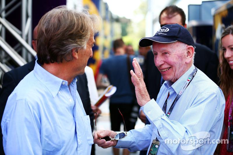 С Лукой ди Монтедземоло в паддоке Гран При Италии 2013 года