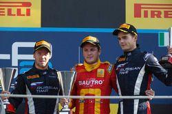 1er Fabio Leimer, 2e Sam Bird, 3e Tom Dillman