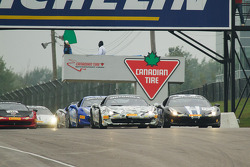 Ferrari Challenge zaterdag race start