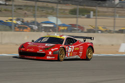 #61 R.Ferri/AIM Motorsport Racing met Ferrari Ferrari 458: Jeff Segal, Alex Tagliani
