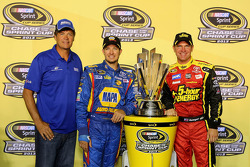 Michael Waltrip, Clint Bowyer et Martin Truex Jr.