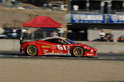 #61 R.Ferri/AIM Motorsport Racing com Ferrari Ferrari 458: Jeff Segal, Alex Tagliani
