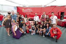 Ronald McDonald house visita Leh Keen, Alessandro Balzan