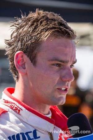 Tom Chilton dopo la sua prima pole