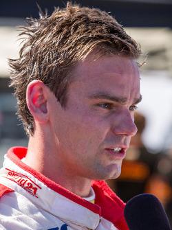 Tom Chilton na zijn eerste pole position