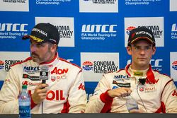 Yvan Muller e Tom Chilton