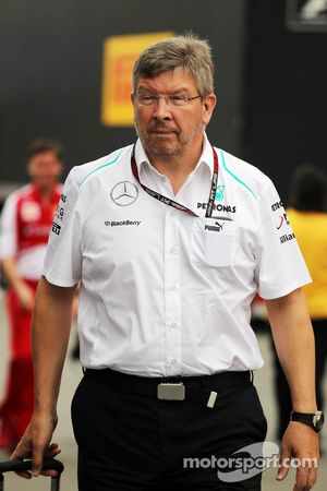 Ross Brawn, jefe de equipo del Mercedes AMG F1 Team
