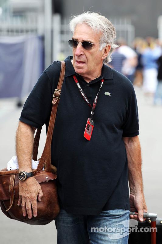 tomshine  Tom Shine, Driver Manager at Italian GP - Formula 1 Photos