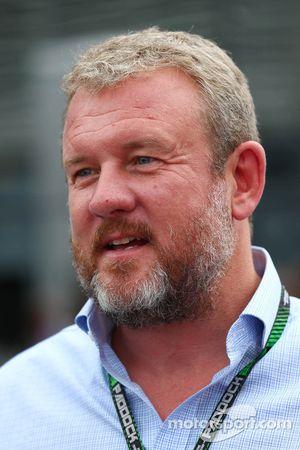 Richard Goddard, manager de Paul di Resta et Jenson Button