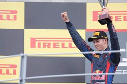 Second place Daniil Kvyat