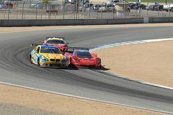#93 Turner Motorsport BMW M3: Michael Marsal #99 GAINSCO/ Bob Stallings Racing Corvette DP: Jon Fogarty, Alex Gurney