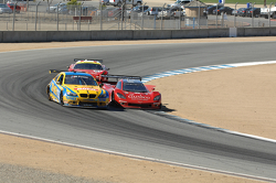 #93 Turner Motorsport BMW M3: Michael Marsal #99 GAINSCO/ Bob Stallings Racing Corvette DP: Jon Foga