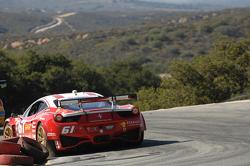 #61 R.Ferri/AIM Motorsport Racing com Ferrari Ferrari 458: Jeff Segal, Alex Tagliani