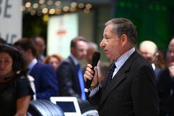 Formula E official presentation: Jean Todt (FRA) Fia President