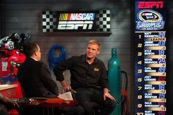 Clint Bowyer visits ESPN