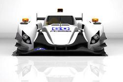 ADESS unveils LMP2 car