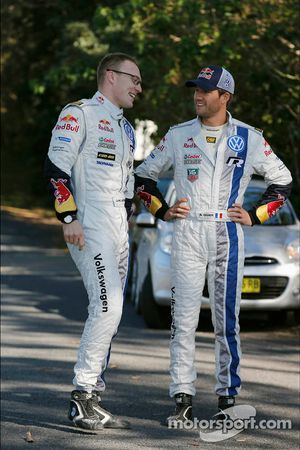 Jari-Matti Latvala and Sébastien Ogier, Volkswagen Motorsport