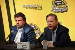 Mike Helton, and Brian France