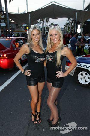 Encantadoras chicas del rally