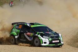 Yazeed Al-Rajhi en Michael Orr, Ford Fiesta RRC