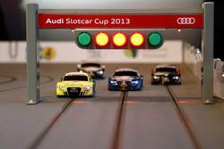 Autos modelo o a escala de Audi (slot cars)