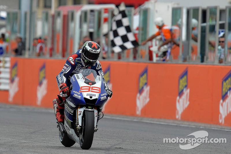 Grand Prix de Saint-Marin, vainqueur : Jorge Lorenzo