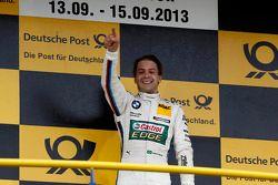 Winnaar Augusto Farfus, BMW Team RBM BMW M3 DTM
