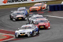 Dirk Werner, BMW Team Schnitzer BMW M3 DTM, Miguel Molina, Audi Sport Team Phoenix Racing Audi A5 DT