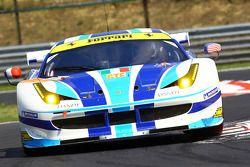 #54 AF Corse Ferrari F458: Yannick Mallegol, Jean-Marc Bachelier, Howard Blank