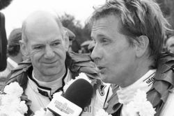Whitsun Trophy, Ford GT40 race winner Adian Newey and Kenny Brack