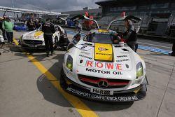 Michael Zehe, Marko Hartung, Mark Bullitt, ROWE RACING, Mercedes-Benz SLS AMG GT3