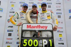Winners Jochen Krumbach, Jörg Bergmeister, Lucas Luhr, Manthey-Racing, Porsche 911 GT3 RSR