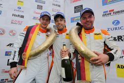 Dominik Brinkmann, Steve Jans, Adam Osieka, GetSpeed Performance, Porsche 911 GT3 Cup