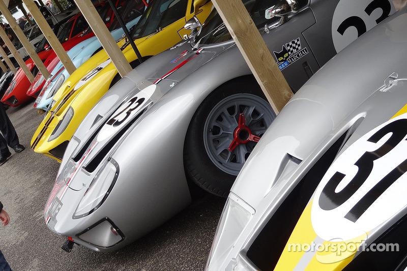 30 GT40's in de pits