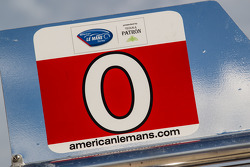 #0 DeltaWing Racing Cars pit board
