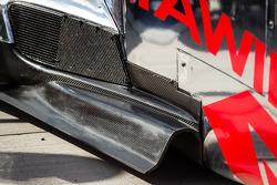 #0 DeltaWing Racing Cars DeltaWing LM12 Elan steering detail