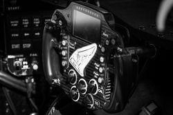 #0 DeltaWing Racing Cars DeltaWing LM12 Elan: detalhe do volante