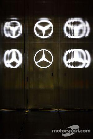 Mercedes AMG F1 logos