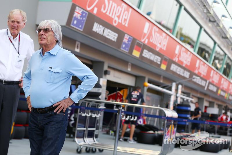 Bernie Ecclestone, CEO Formula One Group (FOM)